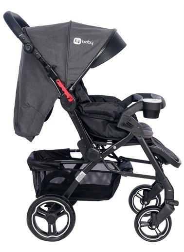 4 Baby 4 Baby Active Plus Çift Yönlü Bebek Arabası Antrasit Antrasit